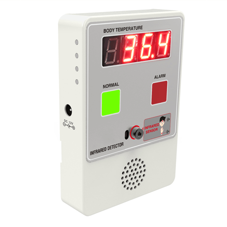 Muurthermometer scanner