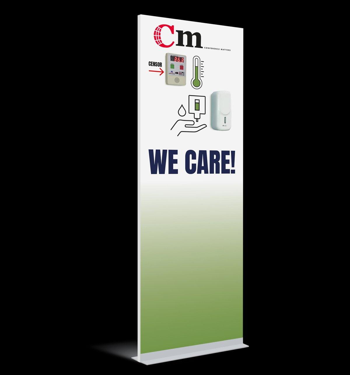 Portaal Check display voorbeeld zeepdispenser
