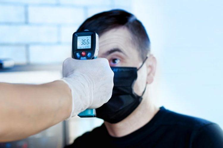 Koortsdetectie met infrarood scanpistool