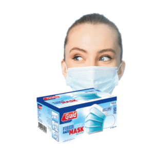 Surgical mask 3-layer (50 pieces)