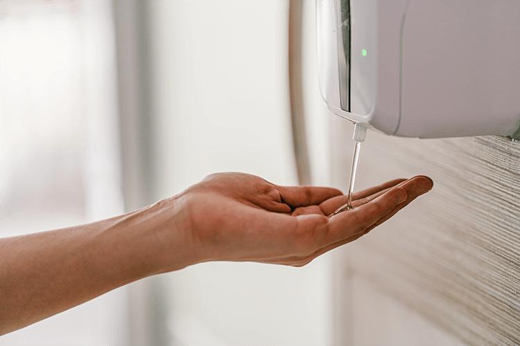 Handen reinigen
