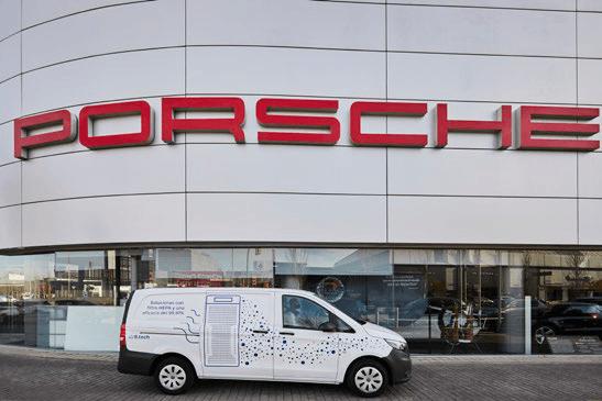 Vanuit het Spaanse hoofdkantoor werden enkele 1200i Pro's geplaatst bij het stijlvolle Centro Porsche Barcelona