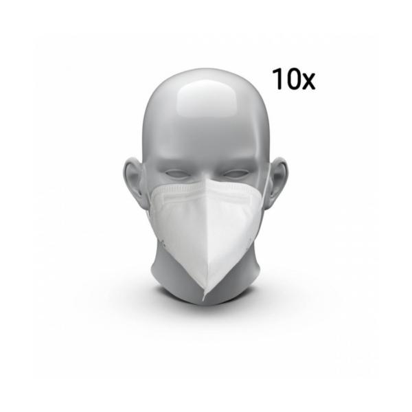 Hoogwaardig fleece mondmasker (FFP3)