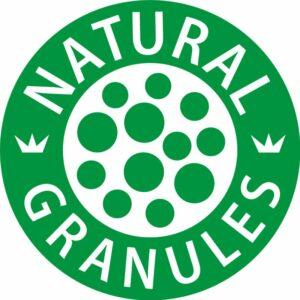 Natural granulates