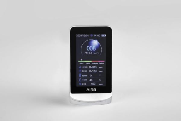 AIR8 Guard Edge smart luchtkwaliteitsmeter