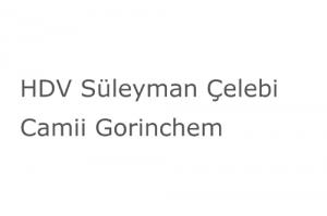 HDV Süleyman Çelebi Camii Gorinchem